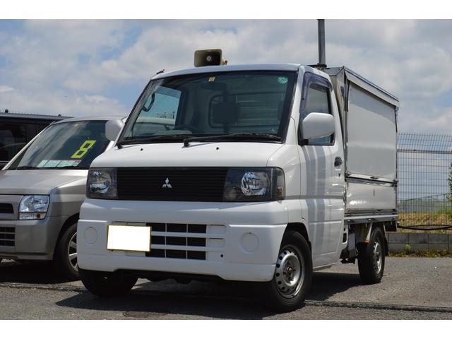 三菱 TL 4WD 移動販売車 エアコン PS