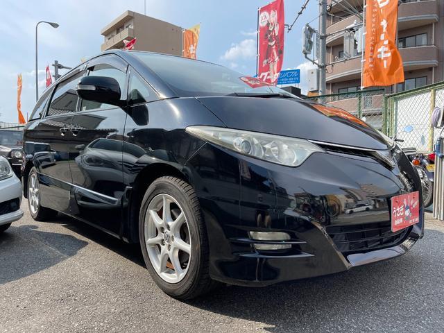 トヨタ エスティマ アエラス Rモニタードラレコ最新ナビタイヤWパワスラ