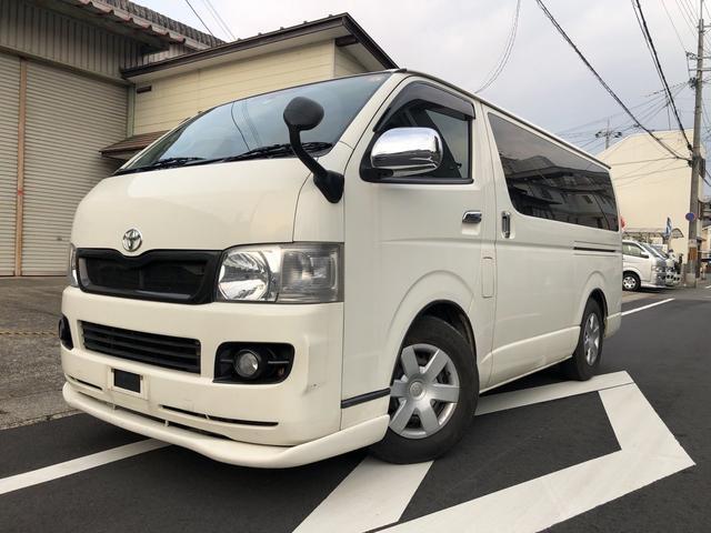 トヨタ ロングスーパーGLディーゼル公認8人乗り ナビBカメラ