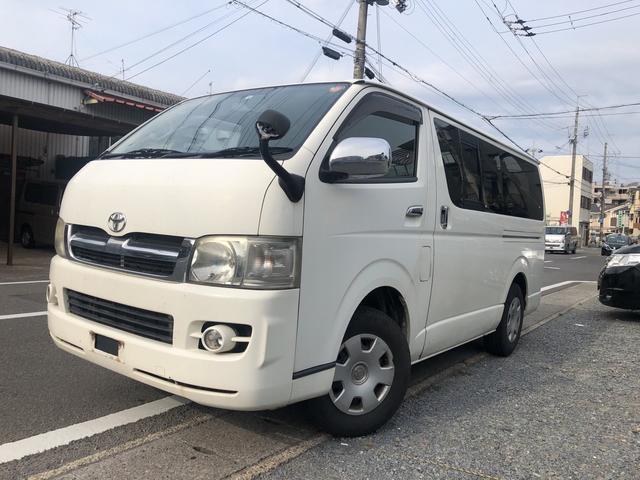 トヨタ ロングスーパーGL4WDディーゼル キーレス タイベル交換済