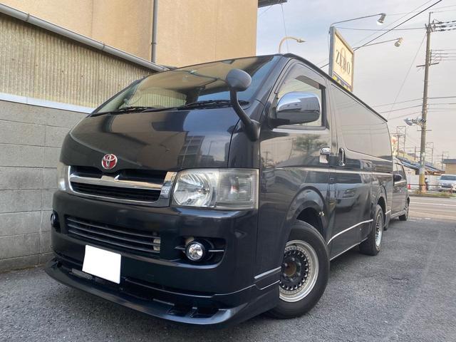トヨタ ロングスーパーGLディーゼルターボ ナビ TV バックカメラ