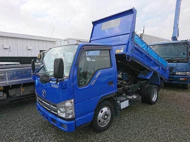 マツダ タイタントラック 2tダンプ フルフラットロー