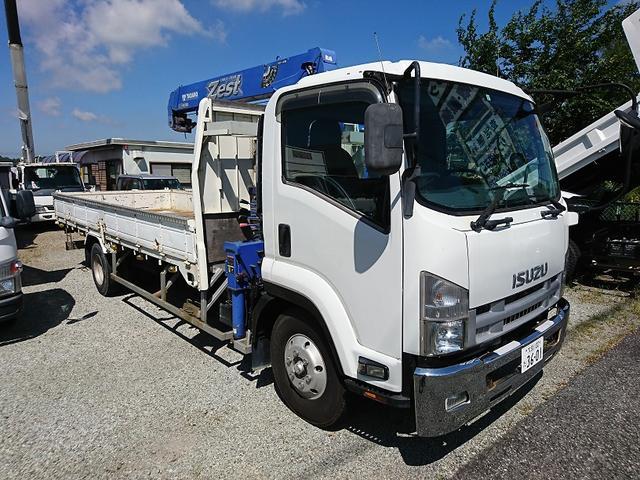 いすゞ  タダノ4段クレーンZE304MH 2.93t吊り ETC付 車検 令和4年1月18日 最大積載量 2600kg
