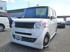 N BOXG・Lパッケージ 社外ウーハー 17AW車高調フルセグナビ