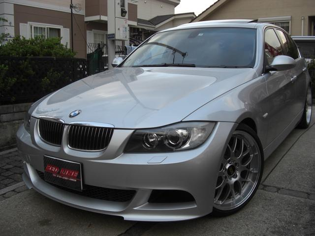 BMW 3シリーズ 325i ダイナミックパッケージ BBS19アルミ アーキュレーマフラー シュニッツァーサスペンション サンルーフ 黒革スポーツシート ワンオーナー車