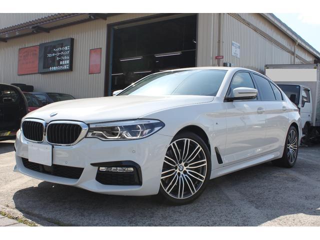 BMW 5シリーズ 523d Mスポーツ 純正HDDナビ ETC2.0 地デジ 禁煙車 360°カメラ ディーゼルターボ リアパワーゲート 取説 保証書 スペアキー 検4年2月