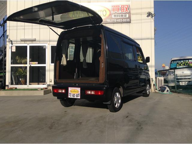 トヨタ DX 軽キャン 車泊 OKワゴン ハイゼット姉妹車 車泊