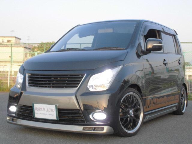 スズキ FXLTDII 車高調HDDナビ バタフライエアロ&マフラー