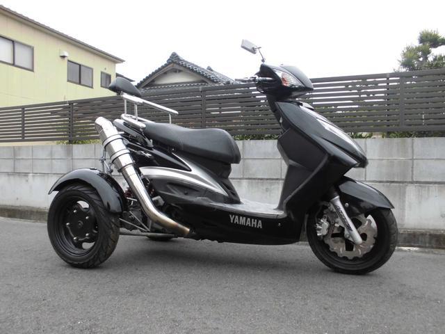 日本その他 ヤマハシグナスX トライク側車二輪登録マフラー普通免許でOK
