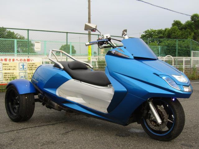 日本その他 日本  ヤマハ マグザムトライク フルカスタム マフラー ETC 側車二輪公認 ノーヘル二人乗りOK 普通車免許 国産ヤマハ 4スト インジェクションで燃費もいいですよ!