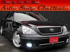 セルシオC 黒革 サンルーフ AIMGAINエアロ ワンオーナー車