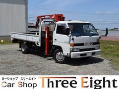 エルフトラック超ロングフラットロー ロングジャッキ 最大積載2750kg