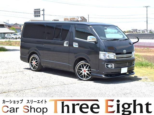 トヨタ ロングスーパーGL 新品20AW エアロ シートカバー ナビ