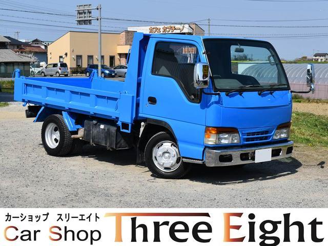 いすゞ エルフトラック 2T フラットロー AT車 メッキバンパー メッキミラー