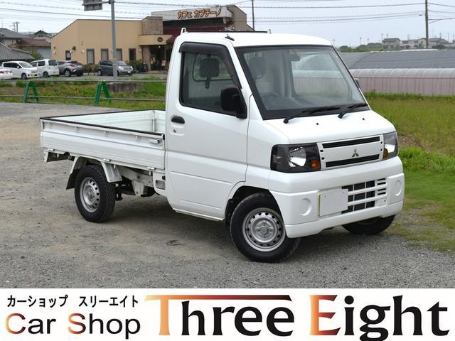 三菱 ミニキャブトラック ベースグレード AT車 エアコン パワステ 4WD 買取車