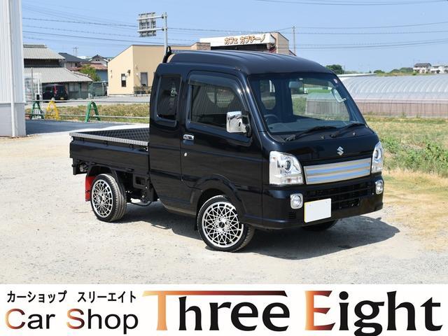 スズキ X 4WD  AT車 ステンレス加工荷台 社外15AW