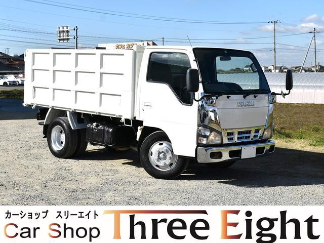 いすゞ 強化ダンプ 3トン 深ダンプ 土砂禁ダンプ 4ナンバー車 メッキパーツ取付
