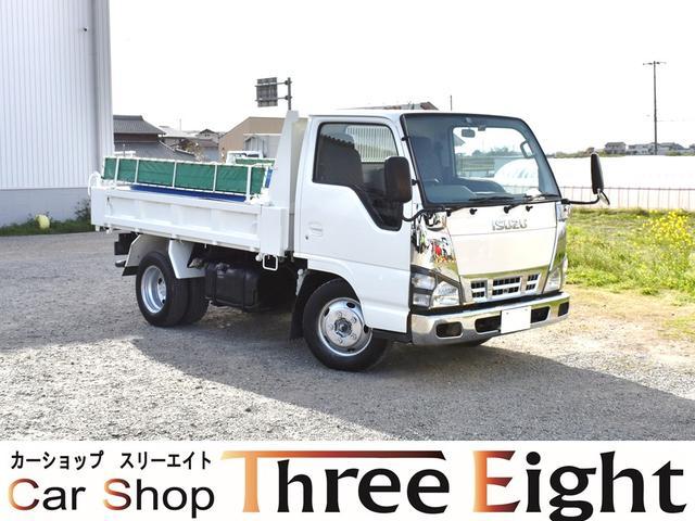 いすゞ エルフトラック 強化ダンプ 高床ダンプ 新品メッキコーナーパネル メッキバンパー コボレーン エアバック ABS ETC エアコン 5速MT スムーサー クラッチレス 最大積載2000キロ エンジン4HL1 ドライブレコーダー
