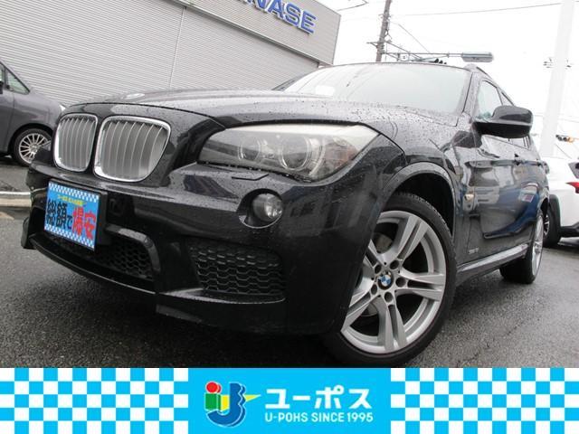 BMW X1 sDrive 18i HDDナビ バックモニター ルーフレール ETC キーレス プッシュスタート オートエアコン 純正アルミ サイドエアバッグ ナビ型式/カロッツェリア AVIC-HRV100