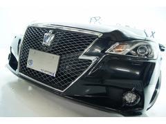クラウンハイブリッドアスリートG 革 全国1年保証 新品アルミ 新品車高調