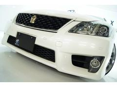クラウン3.5アスリートGパッケージ革 1年保証新品アルミ新品車高調