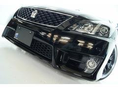 クラウン2.5アスリート アニバーサリーED黒革新品車高調新品アルミ
