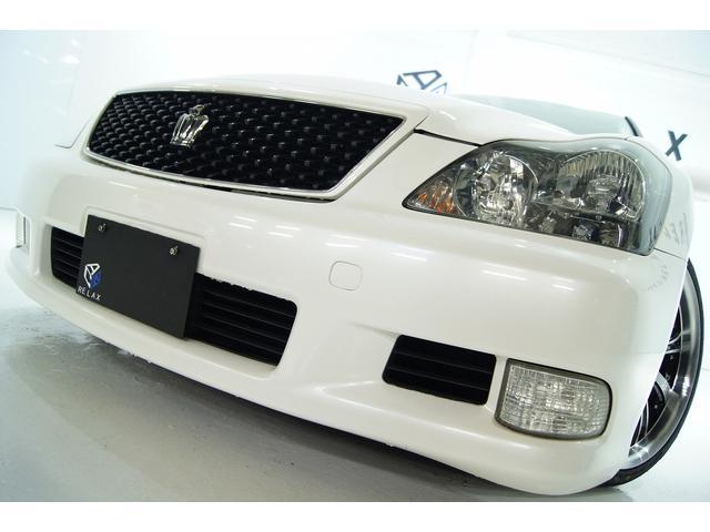トヨタ アスリートGパッケージ革 全国1年保証 新品アルミ新品車高調