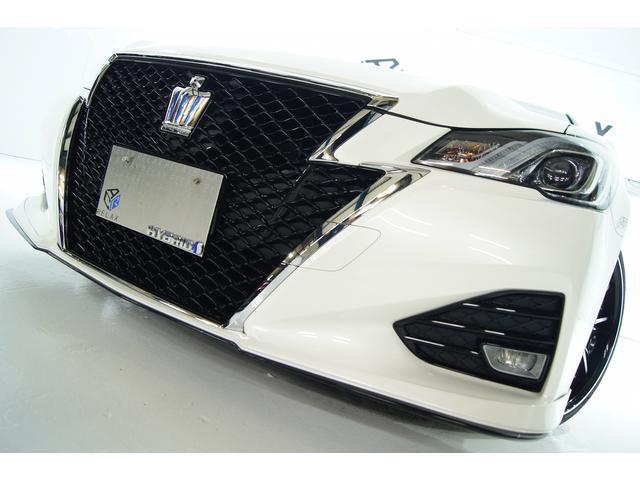 トヨタ アスリートS後期 本革 バカンスエアロ新品アルミ新品車高調