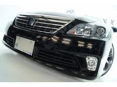 クラウンハイブリッドGパッケージ本革Sサウンド全国1年保証付新品アルミ新品車高調