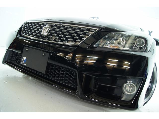 トヨタ アスリート3.5L 本革 全国1年保証 新品アルミ新品車高調