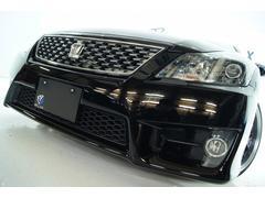 クラウンアスリート3.5L 本革 全国1年保証 新品アルミ新品車高調