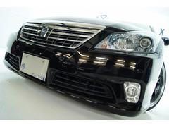 クラウンハイブリッドGパッケージ本革 全国1年保証 新品アルミタイヤ 新品車高調