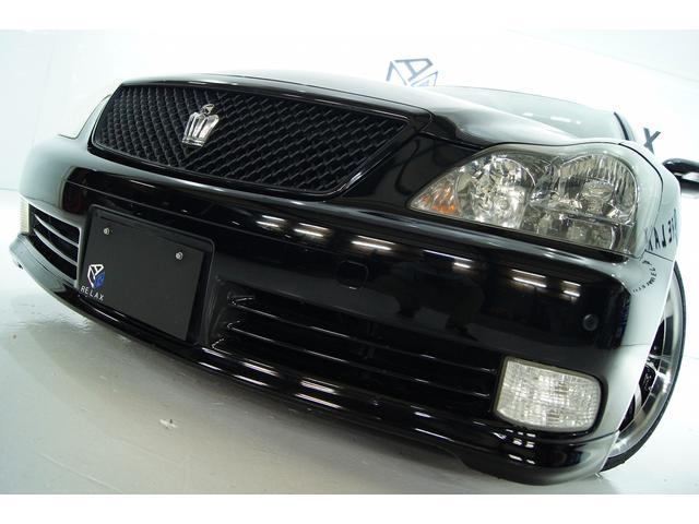 トヨタ アスリート本革サンルーフ 全国1年保証 新品アルミ新品車高調