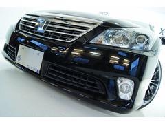 クラウンハイブリッドGパッケージ全国1年保証 本革 新品アルミ 新品車高調
