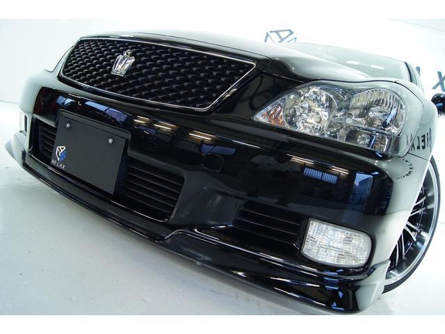トヨタ アスリートTRDサンルーフ1年保証付 新品アルミ 新品車高調