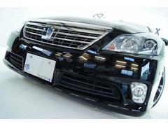 クラウンハイブリッドGパッケージ後期 本革 全国1年保証 新品アルミ新品車高調