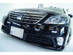 クラウンハイブリッドGパッケージ本革サンルーフ1年保証新品テイン車高調新品アルミ