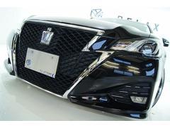 クラウンハイブリッド後期アスリートS 全国1年保証 新品アルミ 新品車高調