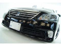 クラウンハイブリッドGパッケージ 本革 全国1年保証 新品アルミ 新品車高調