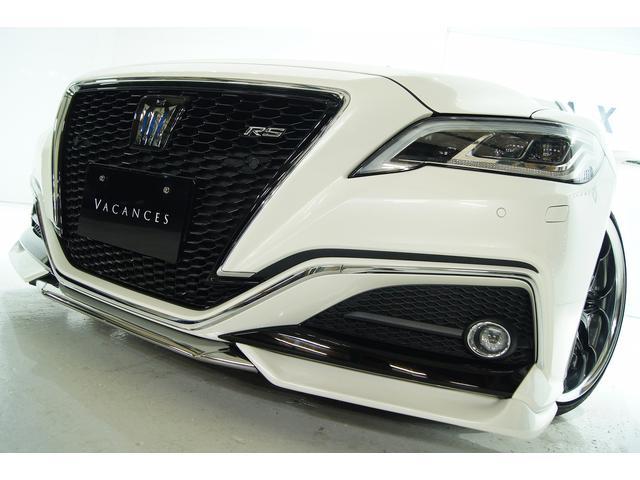 トヨタ RSアドバンス 本革 サンルーフVACANCESエアロコンプ