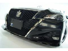 クラウンアスリート−T全国1年保証バカンスエアロ新品車高調19アルミ