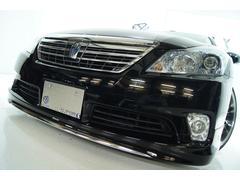 クラウンハイブリッドGパッケージ本革モデリスタ 全国1年保証 新品アルミ新品車高