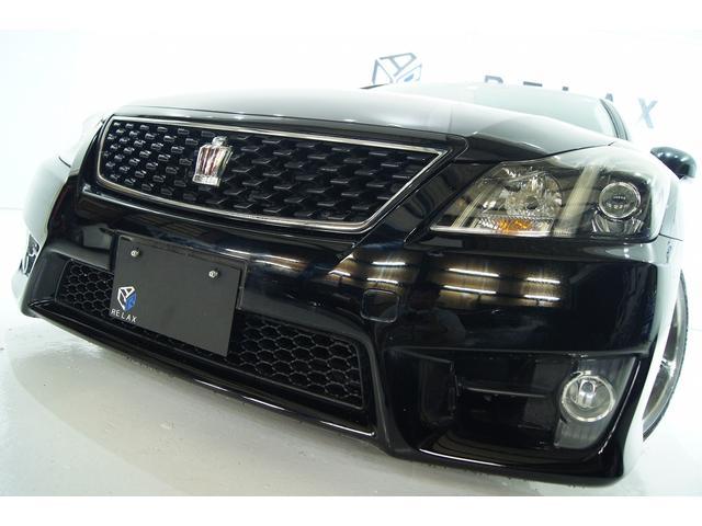 トヨタ 2.5アスリート アニバーサリーED本革新品アルミ新品車高調