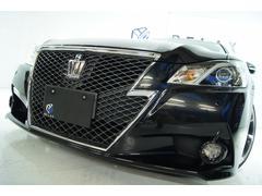クラウンアスリートS本革 全国1年保証 新品アルミタイヤ 新品車高調