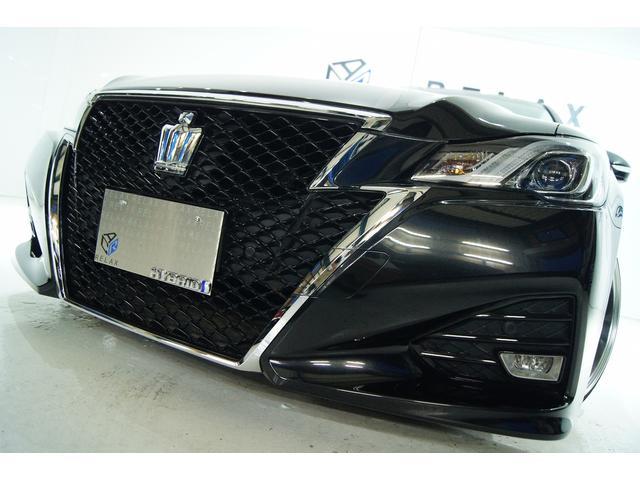 トヨタ アスリートS後期 本革 全国1年保証 新品アルミ 新品車高調