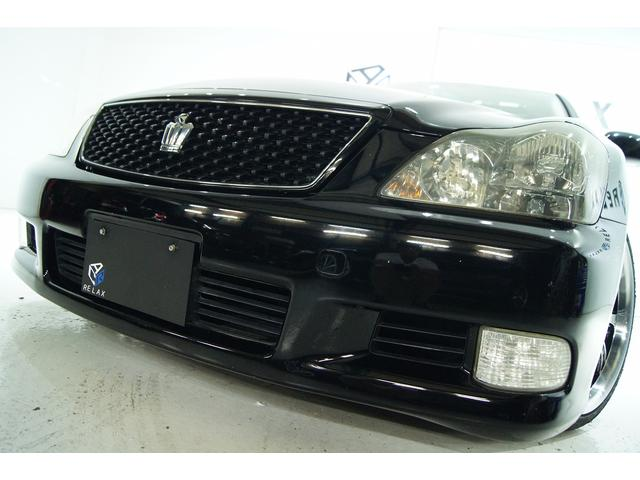 トヨタ アスリート後期 全国1年保証 サンルーフ新品アルミ新品車高調