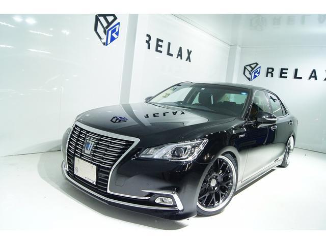 トヨタ ロイヤルサルーン後期 全国1年保証 新品アルミ 新品車高調