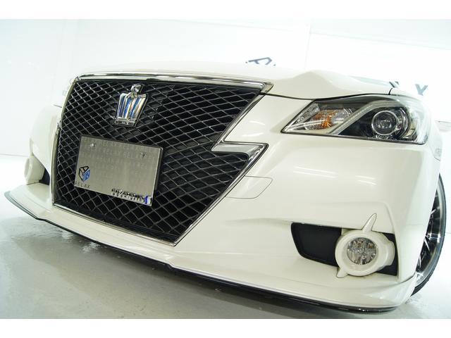 トヨタ クラウンハイブリッド アスリートVACANCESエアロ新品アルミ新タイヤ新品車高調
