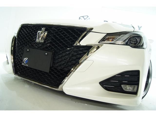 トヨタ クラウン アスリートS-Tガナドールマフラー新品アルミタイヤ新品車高調