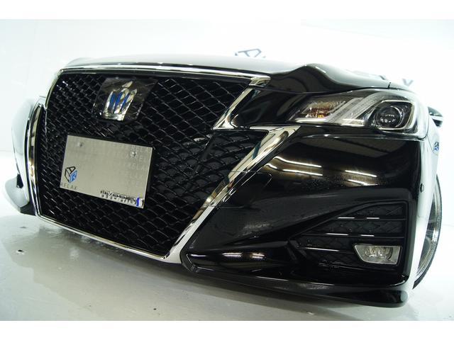 トヨタ クラウンハイブリッド アスリート全国1年保証 新品19アルミ 新品タイヤ新品車高調